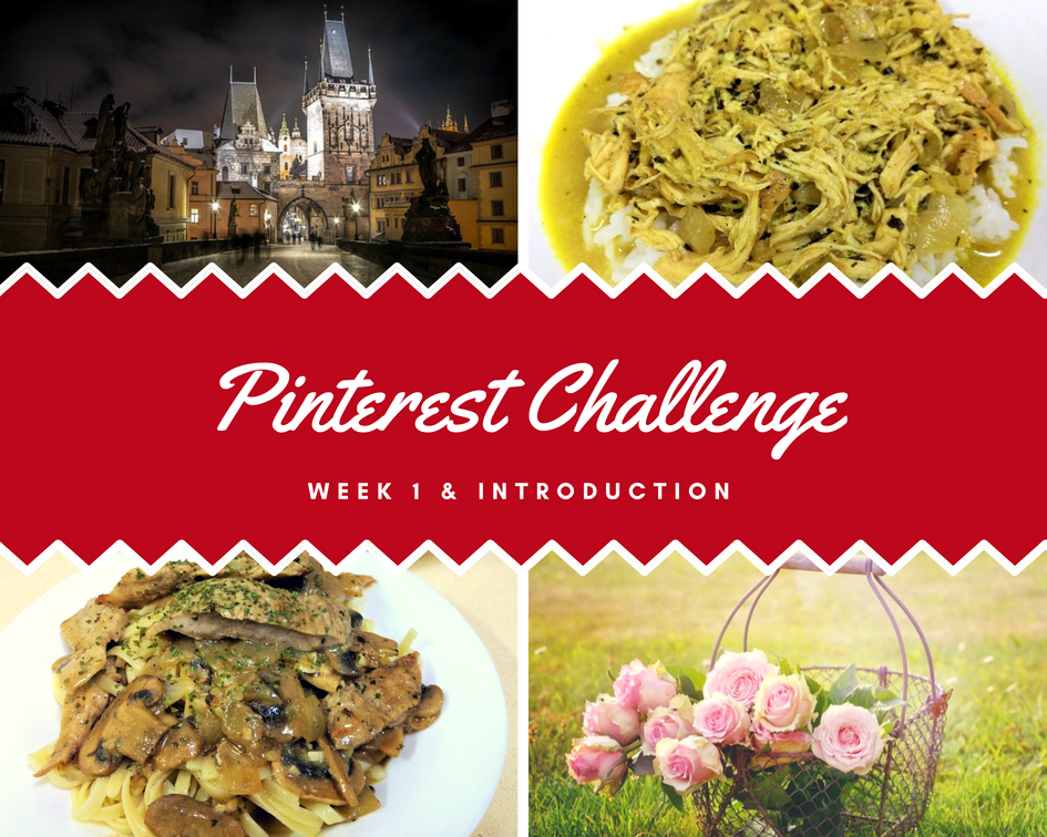Pinterest Challenge – Week 1 & Introduction